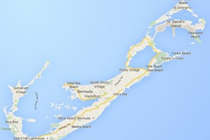 Which area is Bermuda located in?